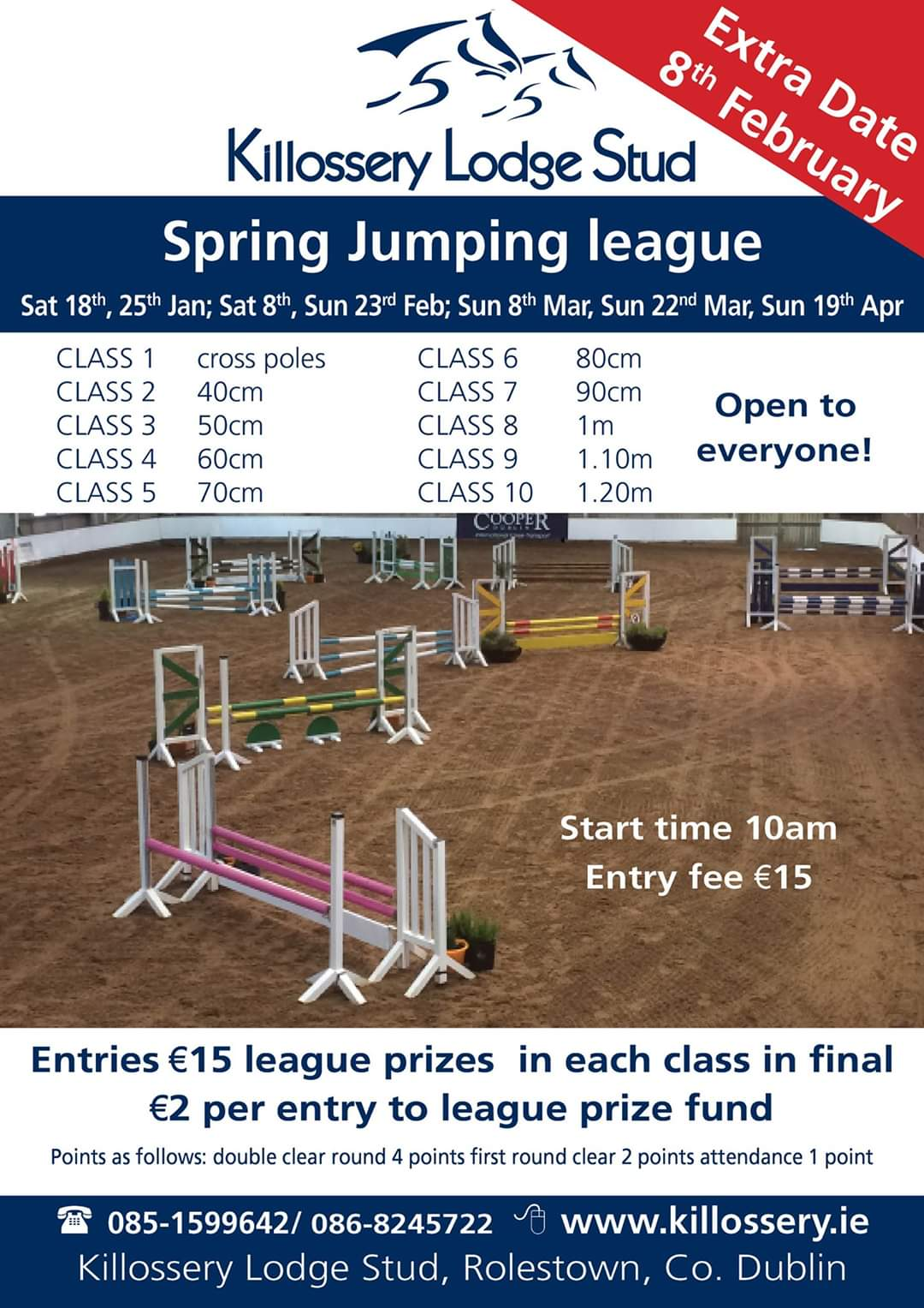 **CANCELLED** Spring Jumping League