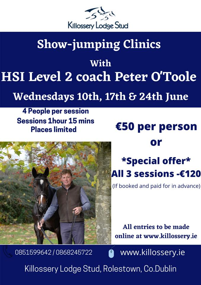 Show Jumping Clinic – Peter O'Toole