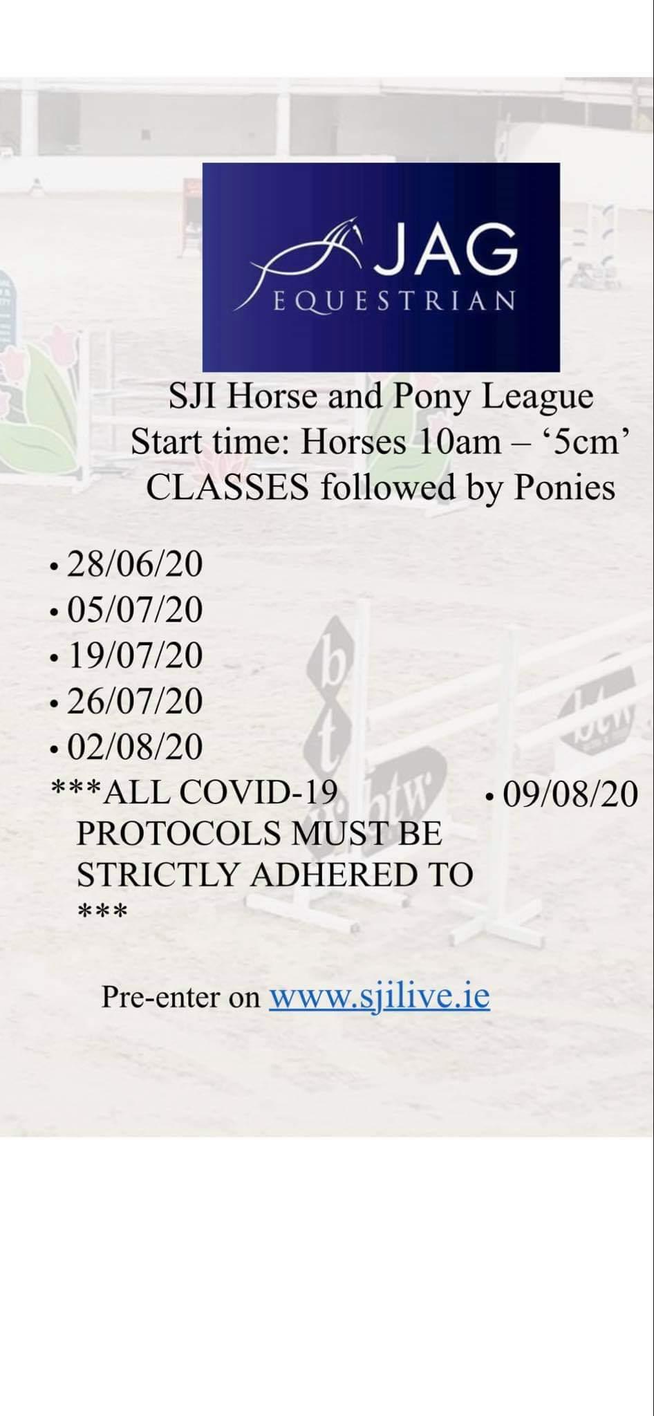 SJI HORSE & PONY LEAGUE