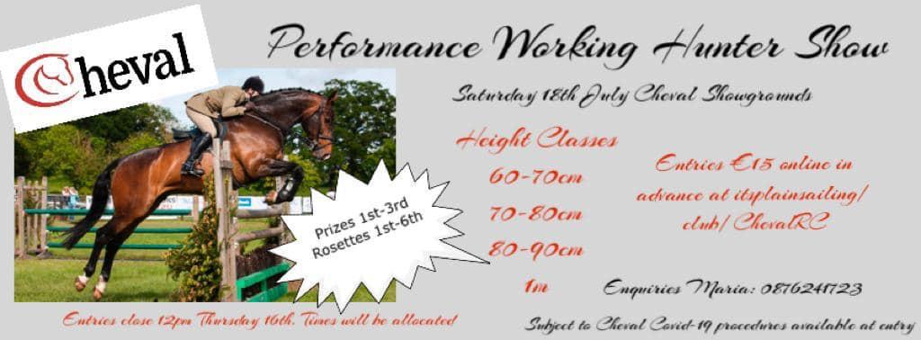 Performance Working Hunter Show