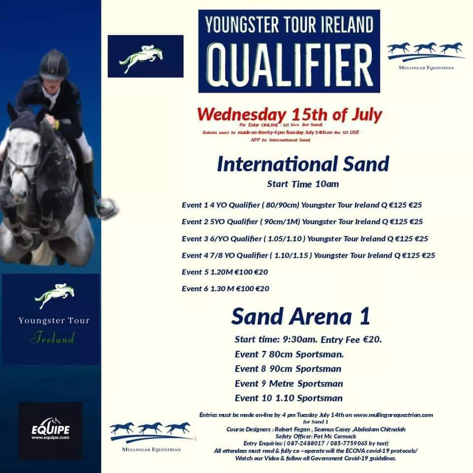 YOUNGSTER TOUR IRELAND QUALIFIER