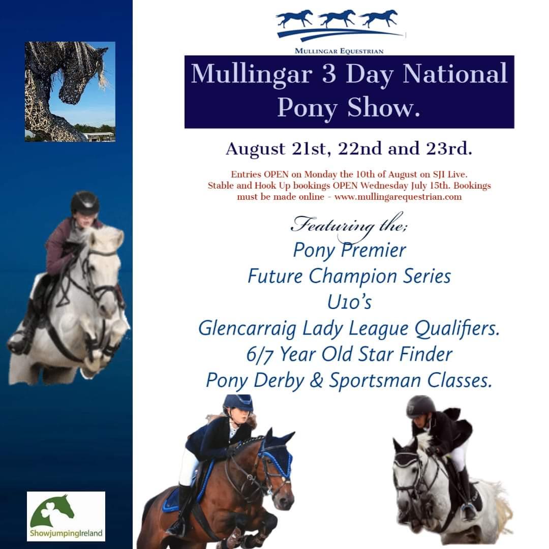 Mullingar 3 Day National Pony Show