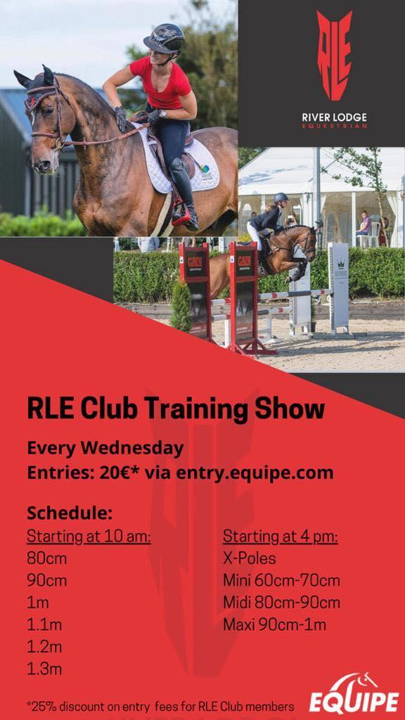 Riverlodge Training Show