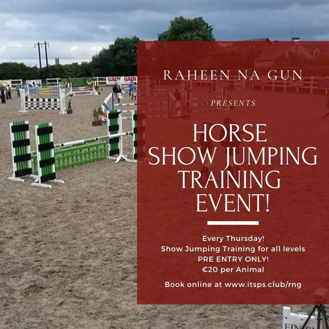 Horse Training Event – Showjumping