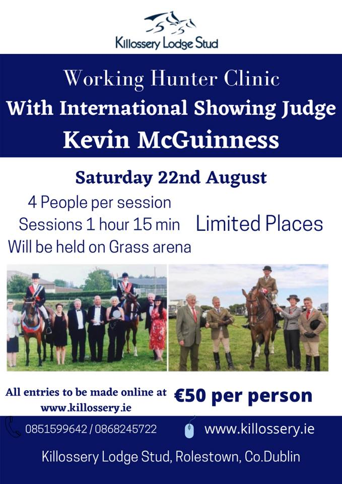 Working Hunter Clinic – Kevin McGuinness