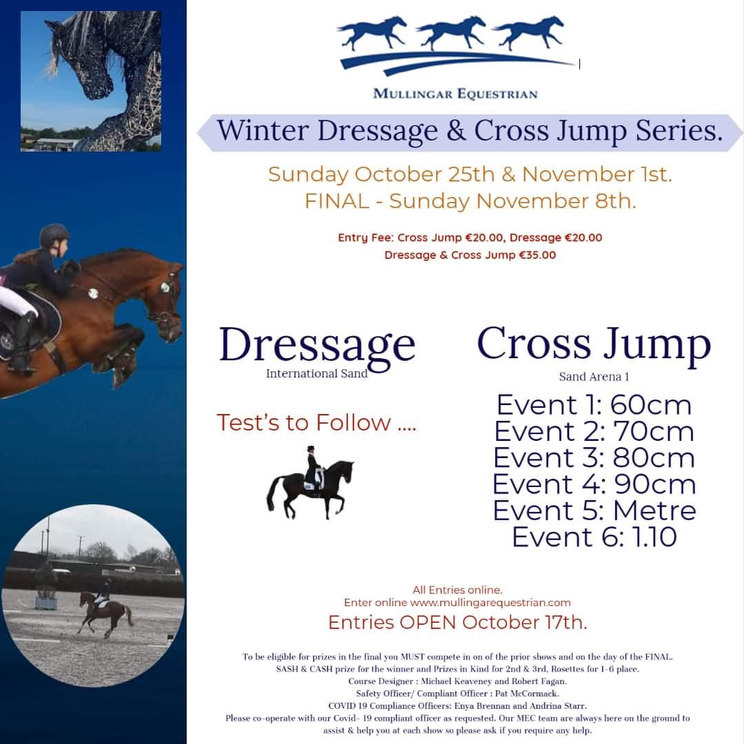 WINTER DRESSAGE & CROSS JUMP SERIES