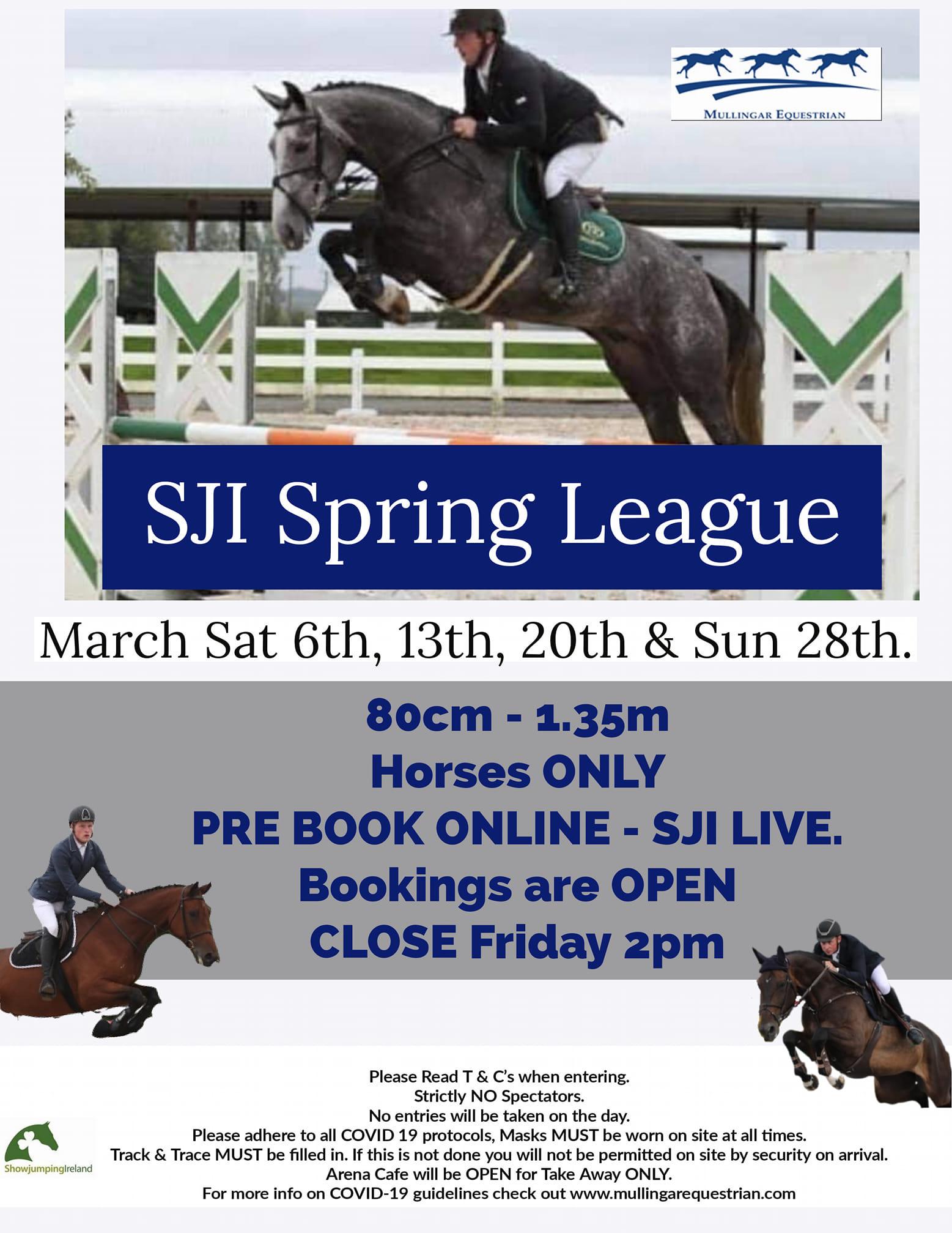 Mullingar SJI Spring League Horses Only