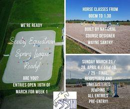 Sceilig Equestrian Spring League and Training