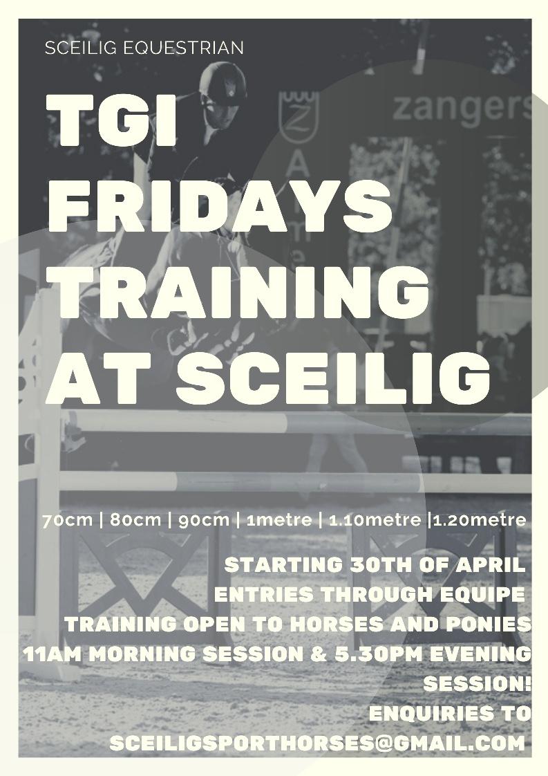 TGIFridays Training at Sceilig