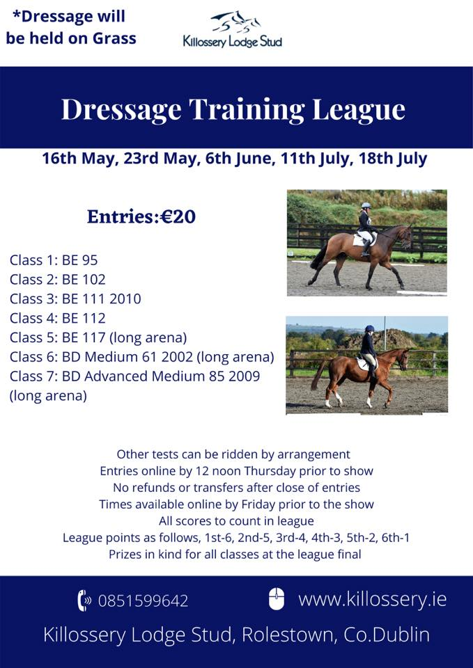 Summer Dressage Training League