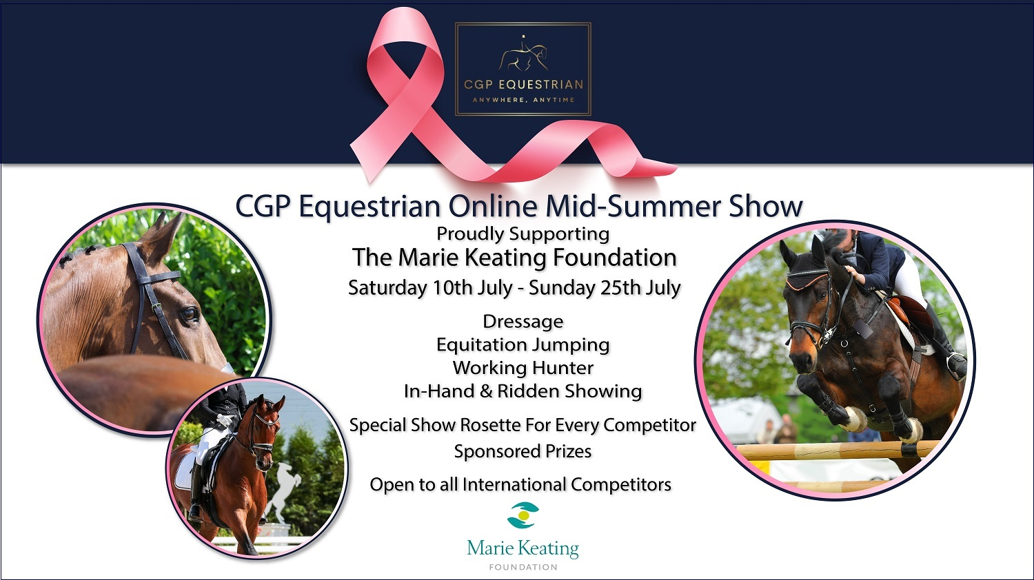 Mid-Summer Show supporting The Marie Keating Foundation