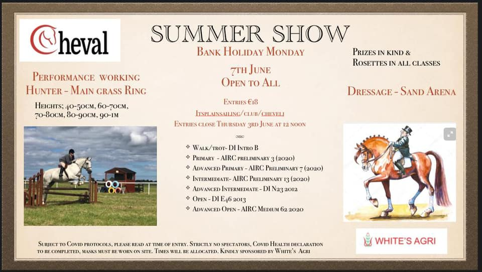 Cheval Summer Show
