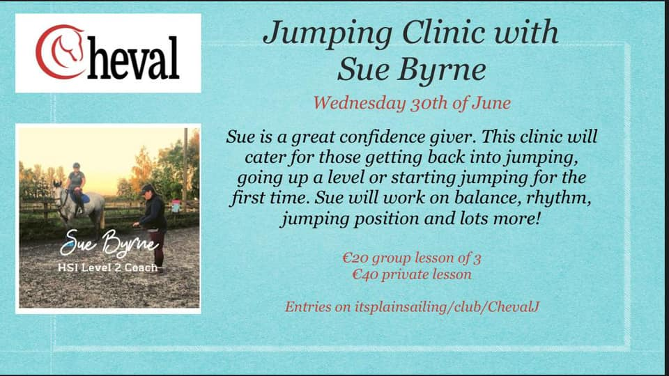 Showjumping Clinic with Sue Byrne