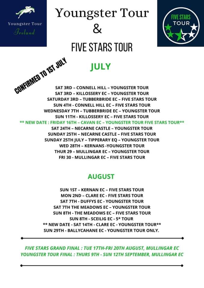 Fivestars Tour – Castle Irvine