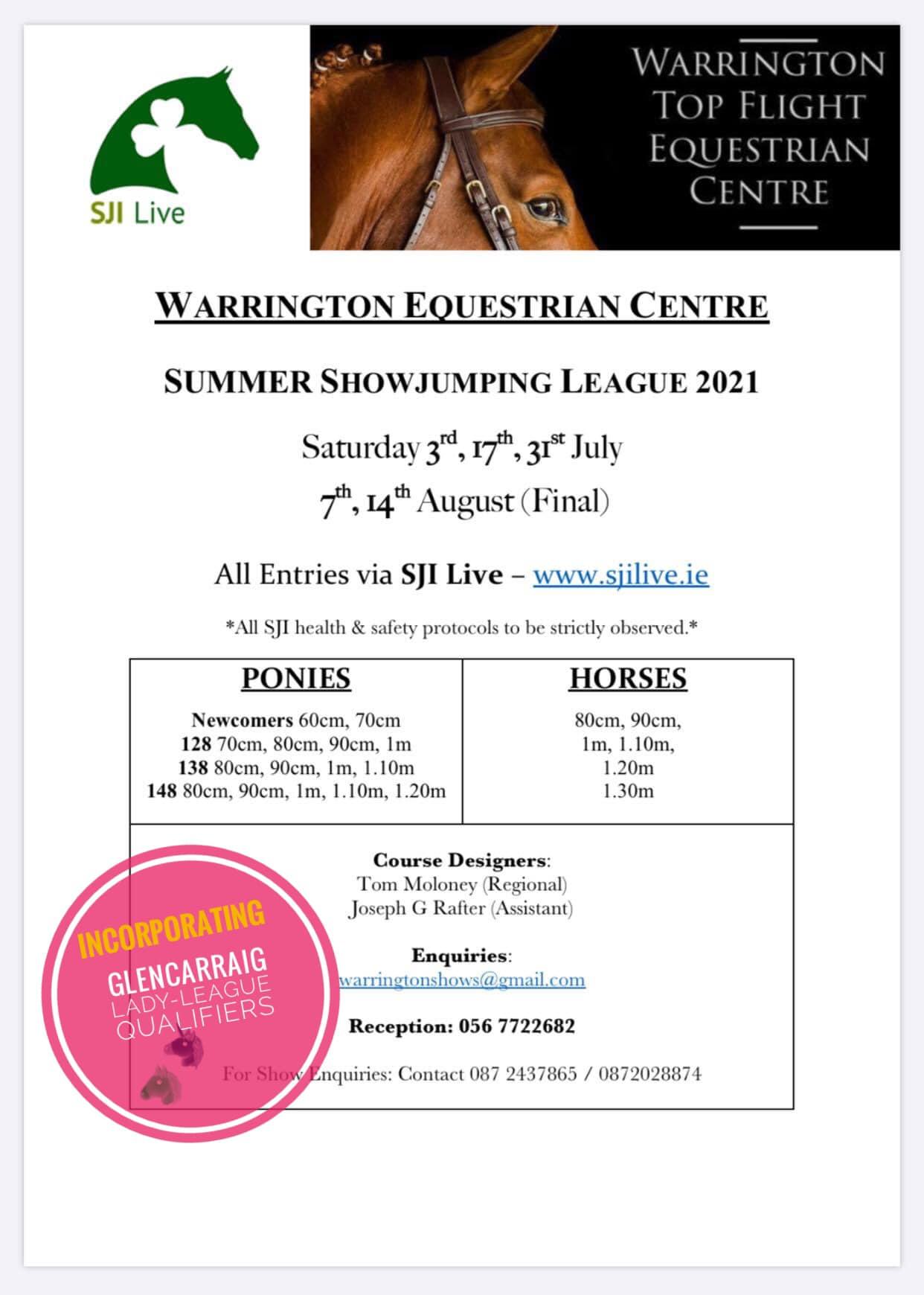 Summer Showjumping League