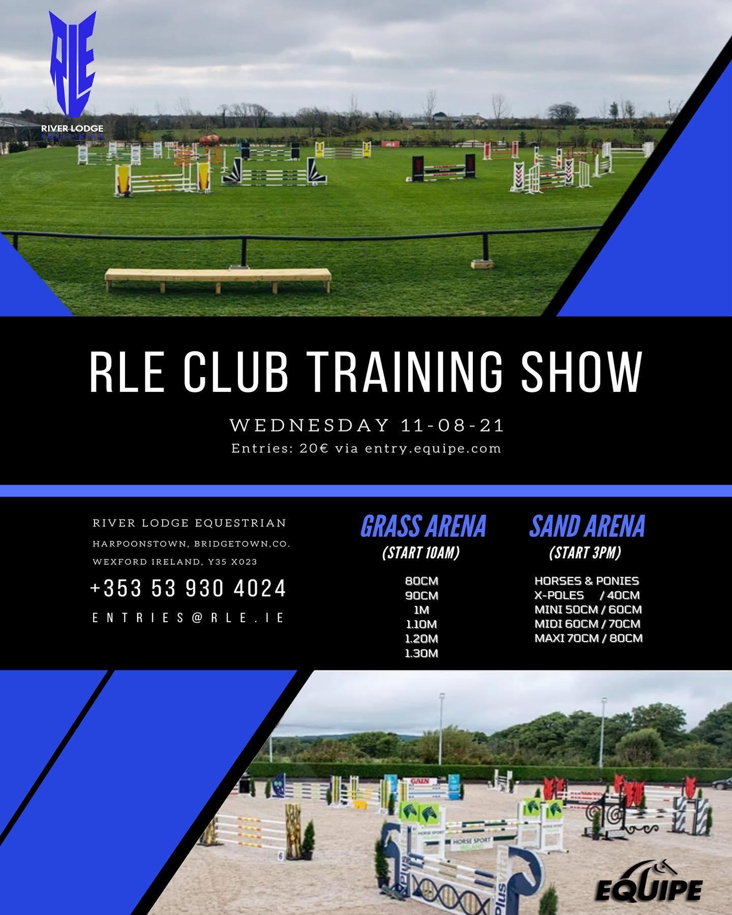 RLE Club Training Show