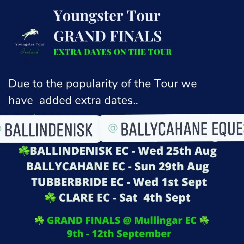 Youngster Tour – Ballycahane Equestrian