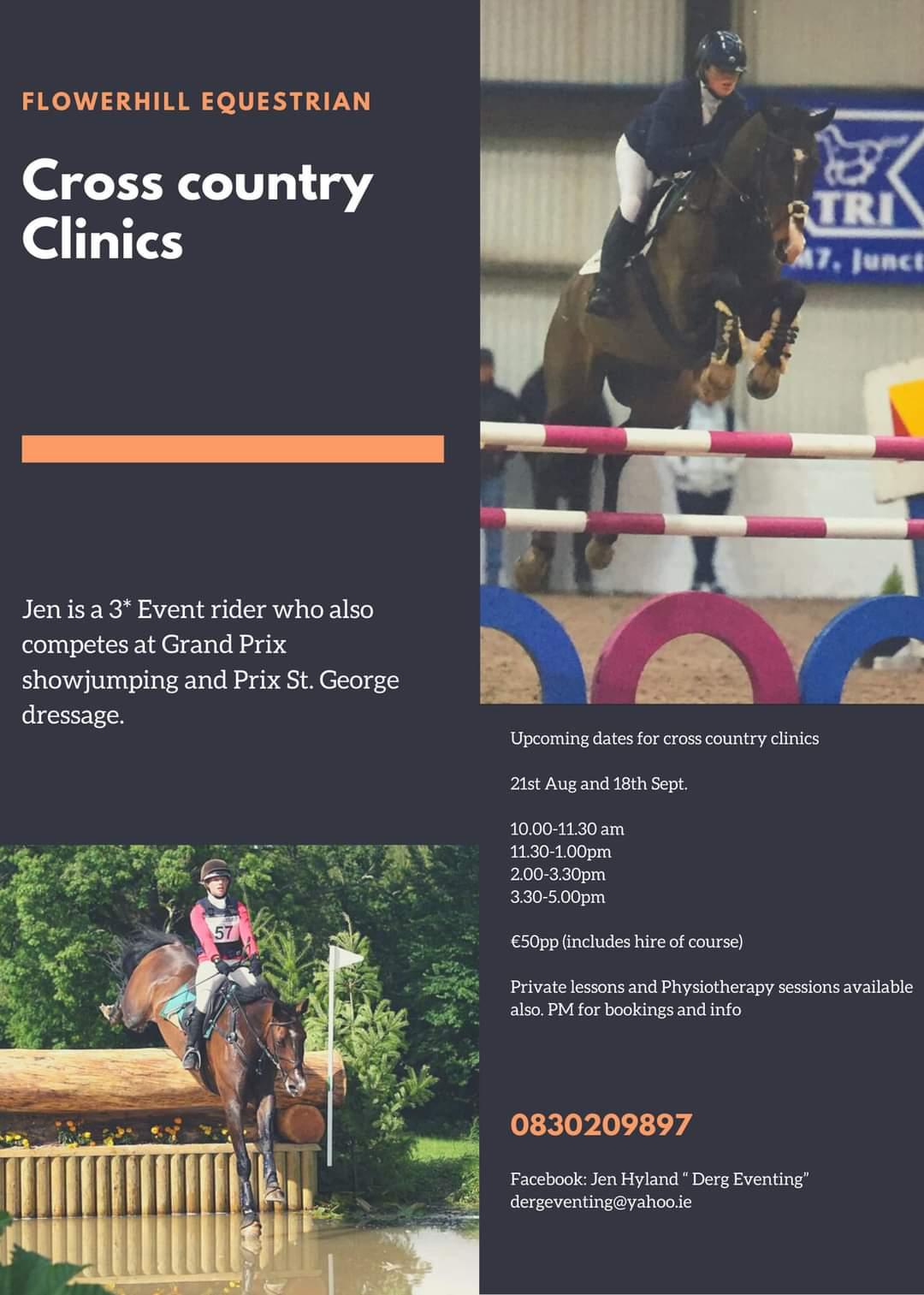 Cross County Clinic – Jen Hyland