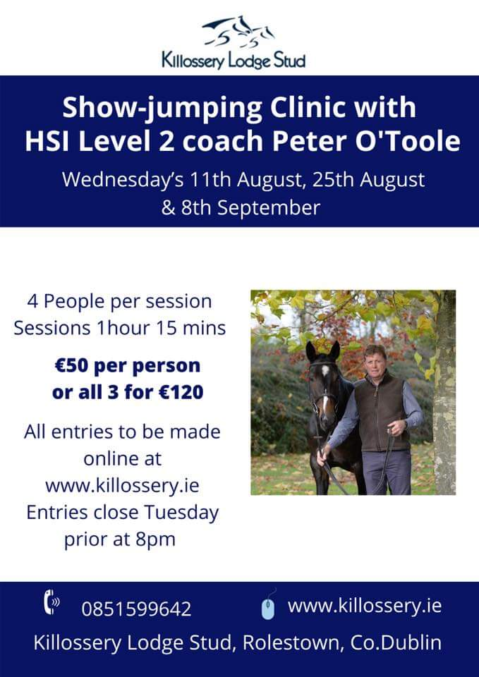 SJ Clinic with HSI Level 2 Coach Peter O'Toole