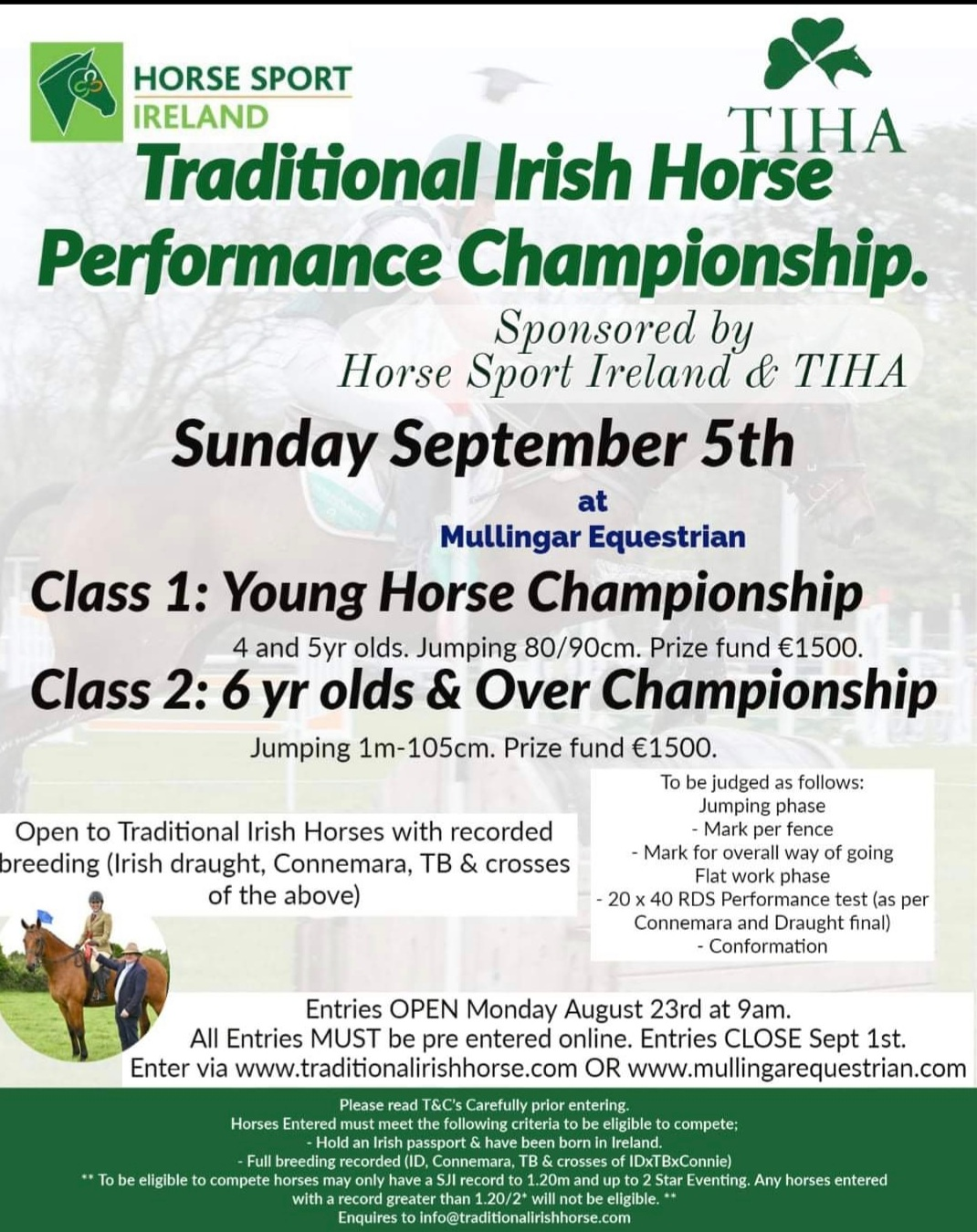 Traditional Irish Horse Performancr Championships