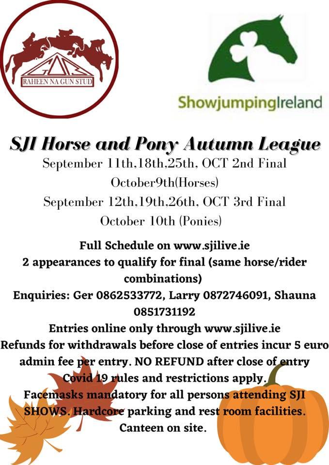 SJI Horse Autumn League