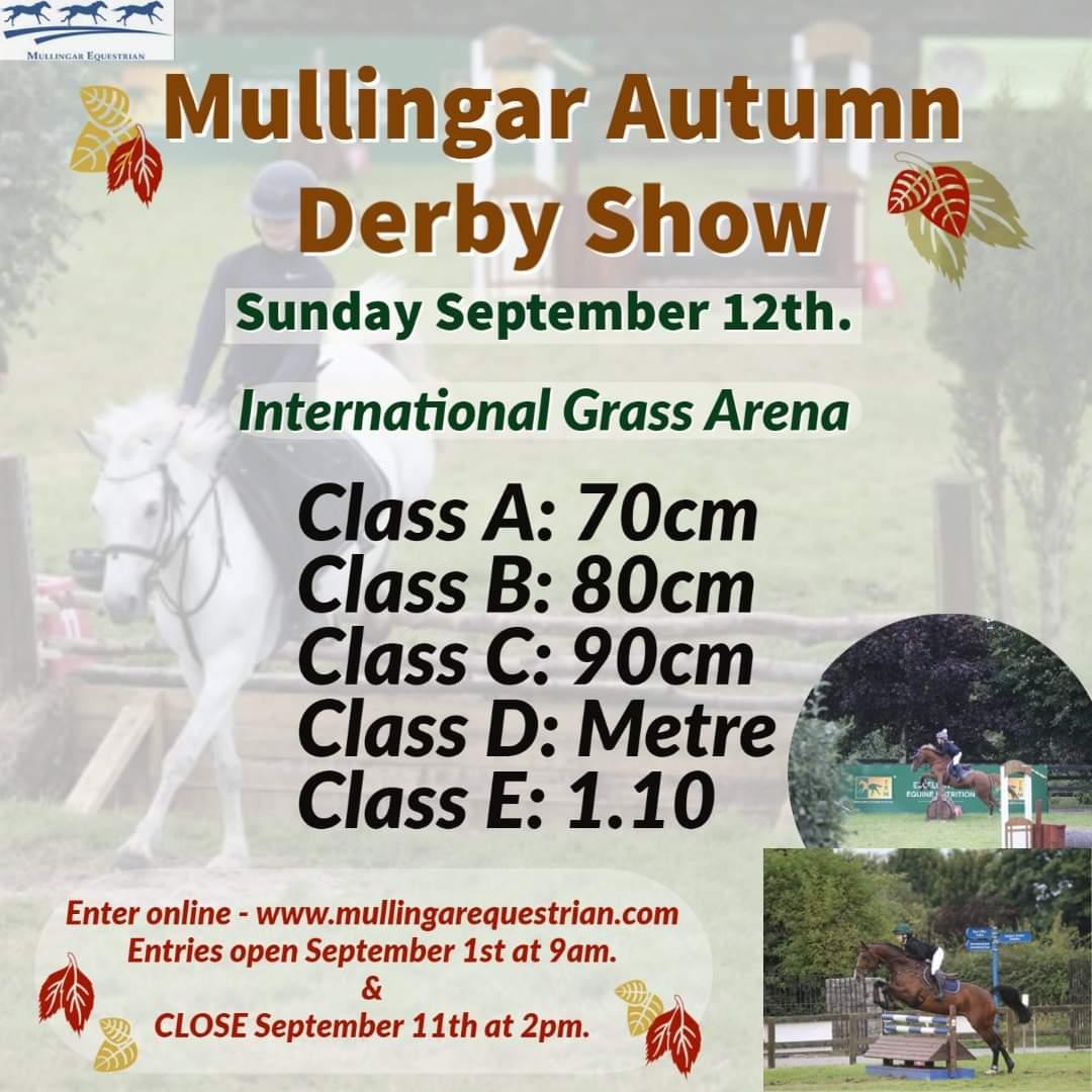 Mullingar Autumn Derby Show