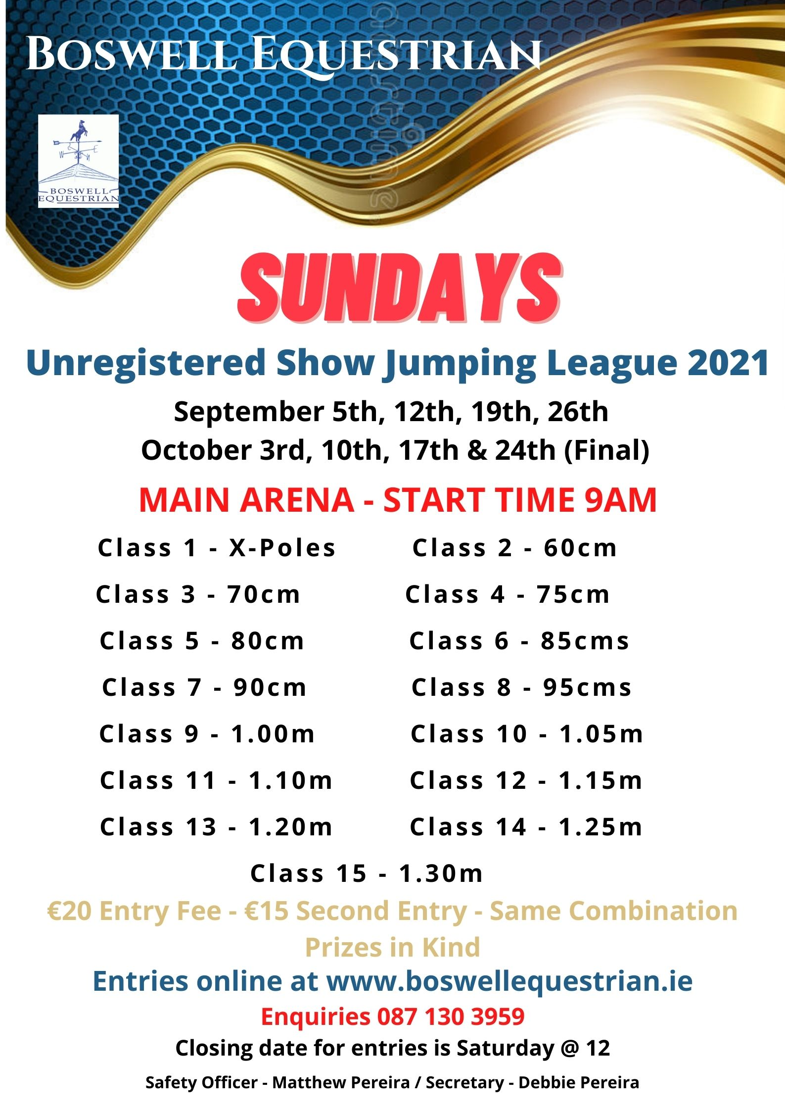 Unregistered Show Jumping