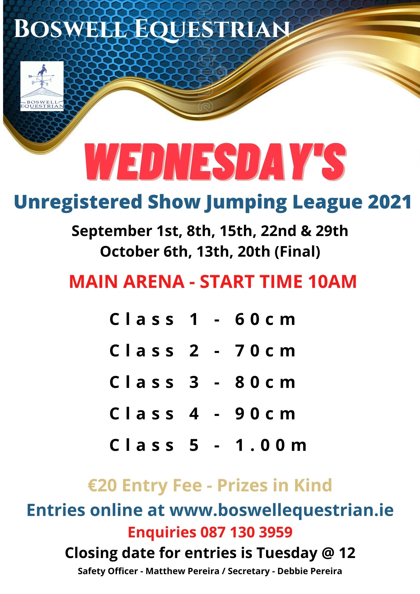 Unregistered Show Jumping League