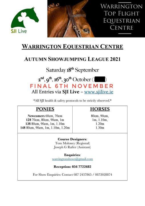 Autumn Showjumping League