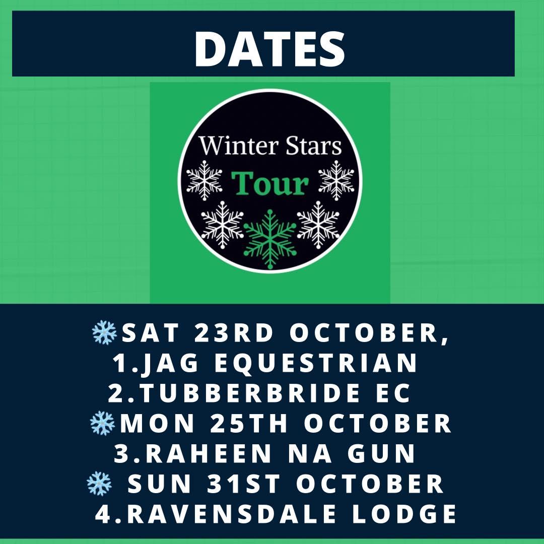 Winter Stars Tour – JAG Equestrian