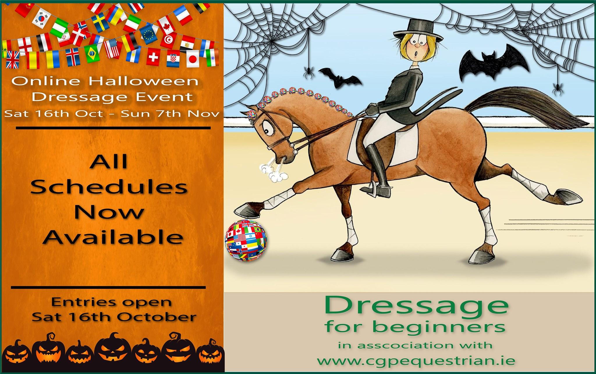 Online Halloween Dressage Event